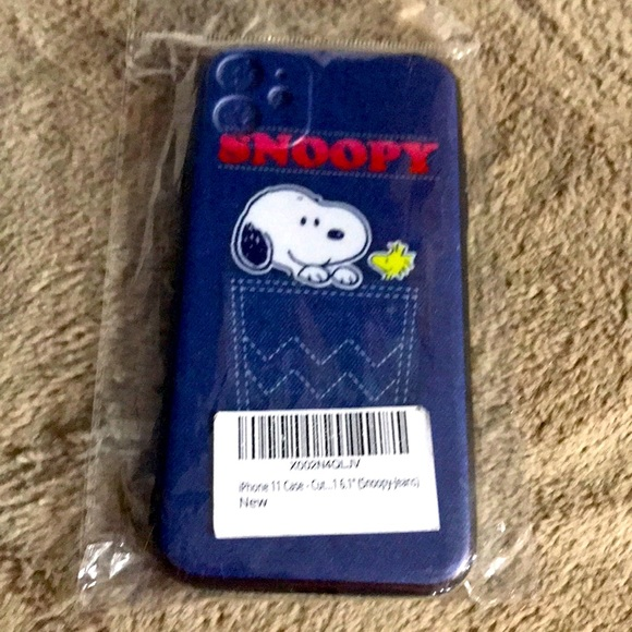 New Snoopy iPhone 11 case